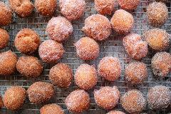 Hot Fresh Donut Holes